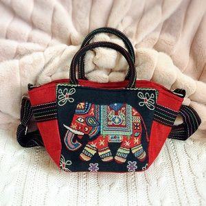 Handbags - 🐘 BOHO Elephant Satchel Bag 🐘